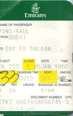 Boarding pass, Dar es Salaam, Emirates, airline, travel, flight, Dubai