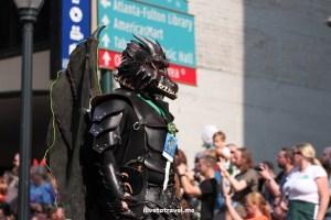 DragonCon, Dragon, Atlanta, parade, conference, convention, science fiction, fantasy, Canon EOS Rebel