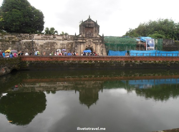 Fort Santiago, Intramuros, Manila, city walls, Philippines, Olympus