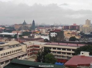 Manila, Intramuros, Philippines, view, vista, Bayleaf Hotel, cloud, sky, Olympus