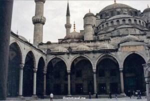 Istanbul, Turkey, Blue Mosque, Sultan Ahmed, minaret, photo, Canon EOS Rebel, travel, history, architecture