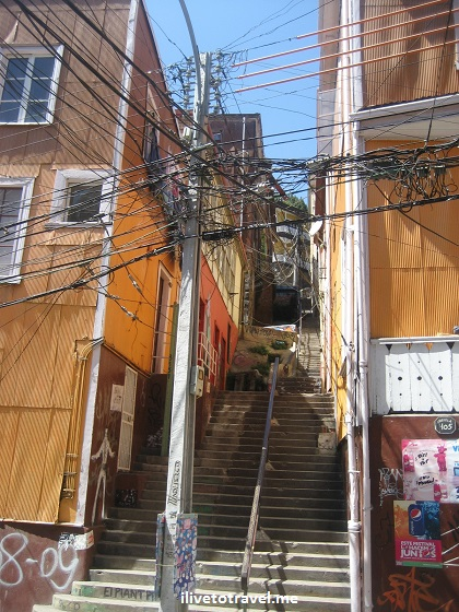 Valparaiso, Valpo, power cables, street scene, Chile, travel, tourism, charm, Canon EOS Rebel, photo