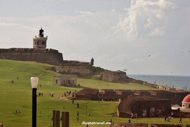 El Morro, fortress, San Juan, Puerto Rico, fields, kites, Caribbean, view, vista, photo, travel, Canon EOS Rebel