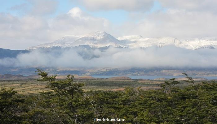 Cueva Milodón, Torres del Paine, Patagonia, Chile, travel, nature, outdoors, view, amazing, vista, mountains, clouds, snow, greem