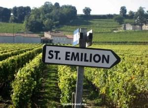 St. Emilion, Bordeaux, French town, France, sign, vines, photo, Canon EOS Rebel
