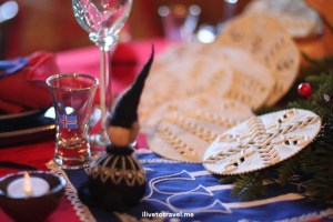 American Swedish Institute, Christmas, decorations, table setting, Norway, travel, museum, Minneapolis