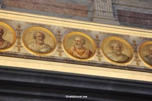 Rome, St. Paul, Outside The Walls, fuori le mura, major basilica, Catholic Church, St. Paul's chain, colonnade, travel, photo, Italy,