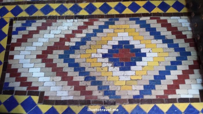 Marrakesh, Morocco, tile, colorful, Smasung Galaxy, photo