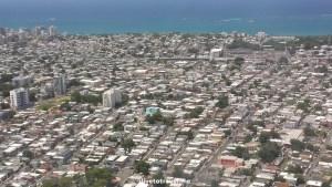 Puerto Rico, airplane, window seat, San Juan, landing, ocean, blue sea ,El Morro, Old San Juan, travel, photo, Samsung Galaxy