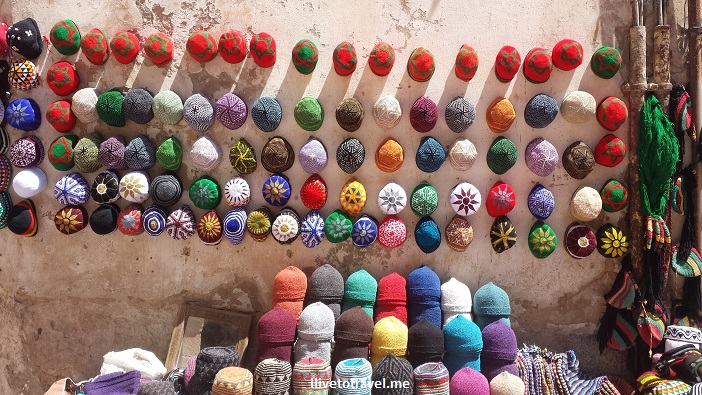 Old Medina, Hats, souk, Essaouira, Morocco, market, goods, colorful, travel, photo, Olympus