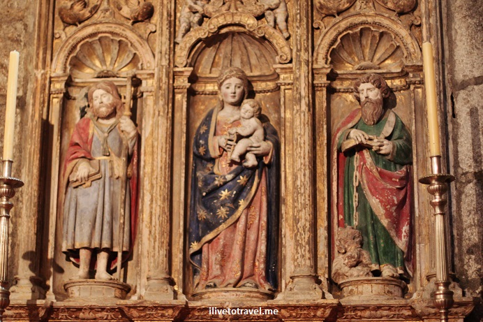 Cathedral, Santiago de Compostela, Plaza del Obradoiro, Camino, The Way, pilgrimage, Spain, España, Espagne, travel, photo, Olympus