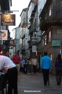 streets, Santiago de Compostela, Galicia, Spain, World Heritage Site, travel, photo, architecture, Canon EOS Rebel