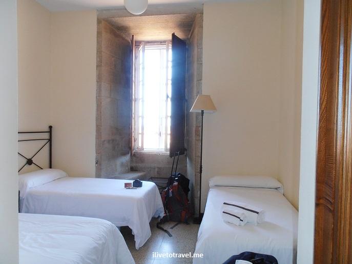 Hospederia San Martin, Santiago de Compostela, hotel, seminary, monastery, travel, photo, Olympus, spartan
