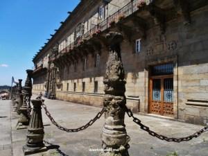 Plaza do Obradoiro, Santiago de Compostela, Galicia, Spain, architecture, travel,photo, Catholic Monarchs, inn, Olympus