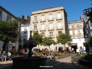 Santiago de Compostela, café, architecture, travel, food, photo