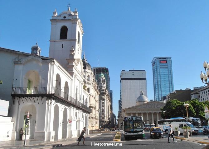Cabildo, cathedral, Buenos Aires, Plaza de Mayo, Argentina, history, architecture, bike tour, travel, photo, Olympus