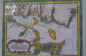 Colonia, Sacramento, Uruguay, colonial, UNESCO, World Heritage, Places to See, travel, photo, old map