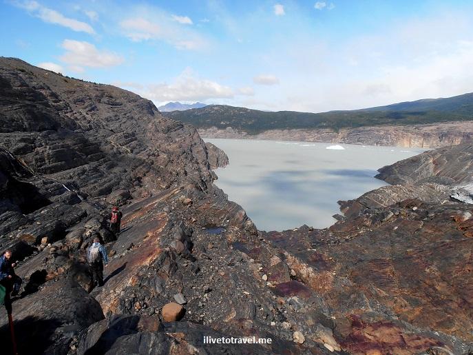 Grey glacier, Chile, Torres del Paine, W circuit, glacier hike, Olympus