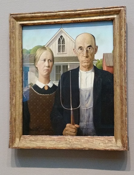 Art Institute, Chicago, art, travel, architecture, Samsung Galaxy, American Gothic