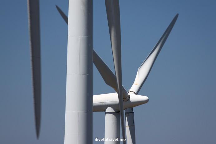 Windmill, Finisterre, Fisterra, Galicia, Spain, coastline