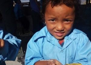 Nepali kid