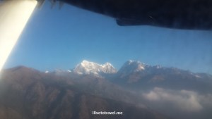 The taller Himalayas via dirty window