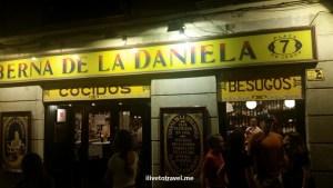 La Daniela, tapas bar, Madrid, Spain, España, food, foodie, travel, photo, Samsung Galaxy