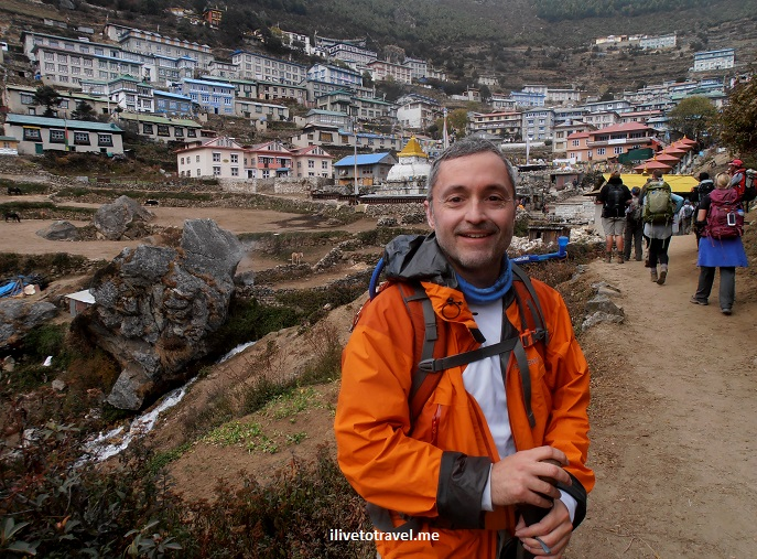 Namche Bazaar, Nepal, Everest Base Camp, trail, route, Himalayas, trekking, hiking, outdoors, adventure