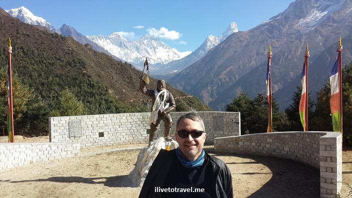 Nepal, Everest, Lhotse, ilivetotravel, monument,Himalayas, Everest, EBC,  mountains, photo, Samsung Galaxy, Ama Dablam