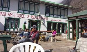 tea house, Himalayas, Nepal, Everest, EBC, Tibetan, architecture, tea, break ,trekkig, hike, Samsung Galaxy