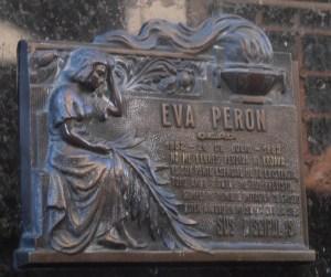 Evita Recoleta Cemetery Argentina