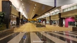 Singapore's Changi was empty in the middle of the night