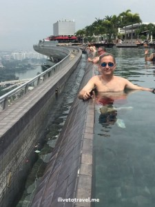 Singapore, ilivetotravel, Marina Bay Sands, infinity pool, up high, travel, explore