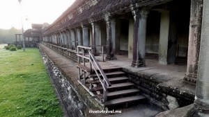 Our entry point into Angkor Wat