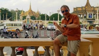 Cambodia, Phnom Penh, Royal Palace, gold, photo, travel, explore, Samsung Galaxy S7, ilivetotravel