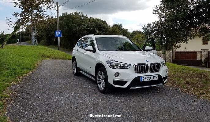 BMW, X1, white, comfort, travel