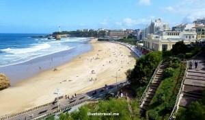 Biarritz, France, casino, Grand Plage, playa, beach,, travel, photo, francia, euskadi