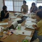 アロマde虫よけスプレー&アロマエッグ作り  2012年7月6日(金)