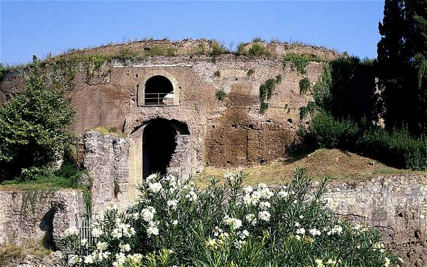 The Mausoleum of Augustus in Rome