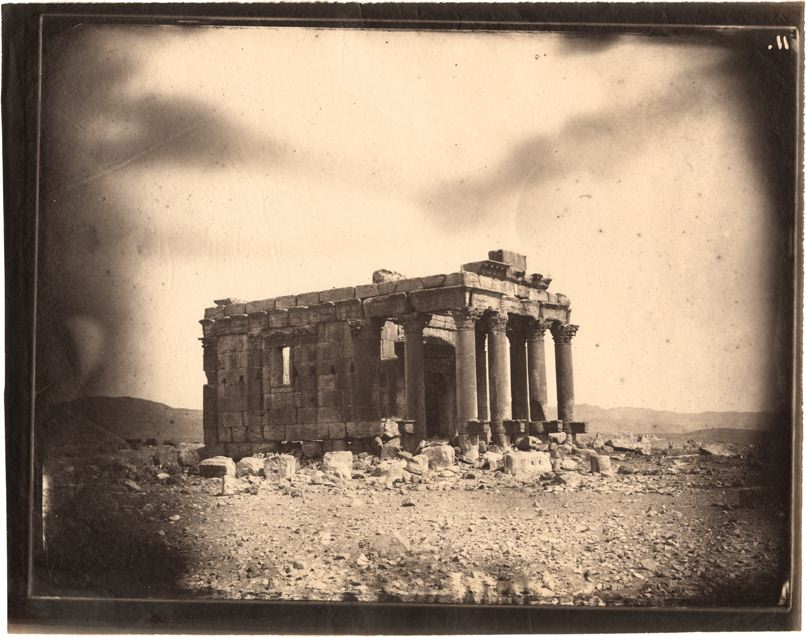 Louis Vignes, Temple of Baalshamin, Palmyra, Syria (1864)