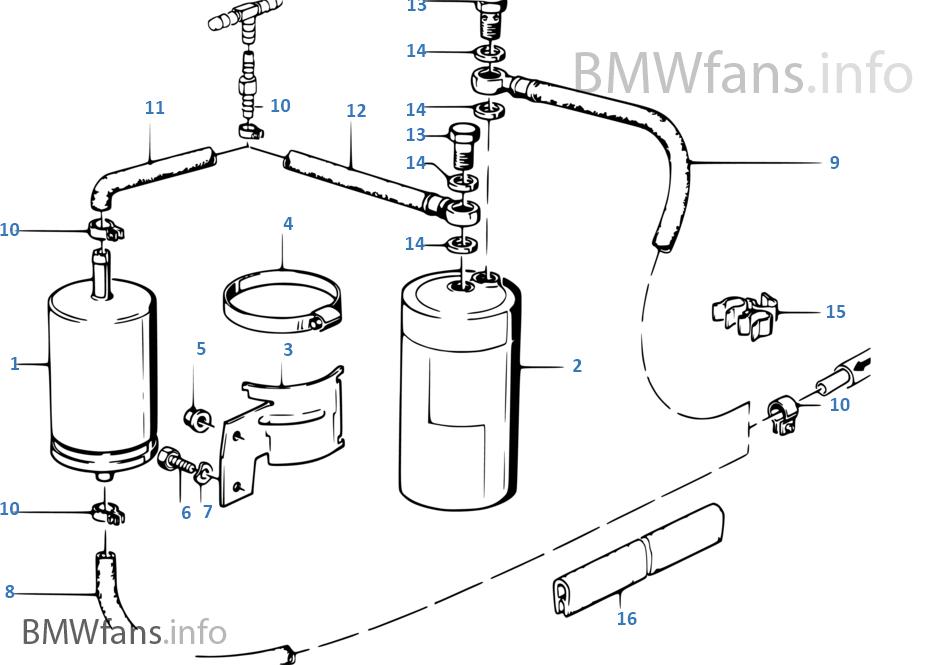 bmw e30 clogged fuel filter