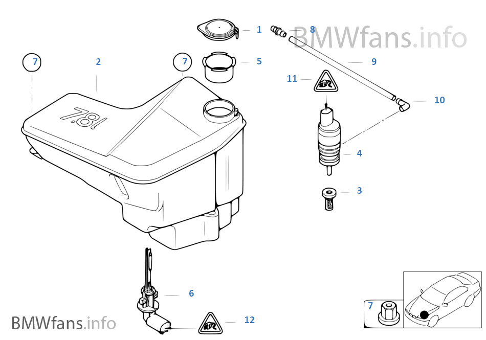 x3 fuse box wiring diagram