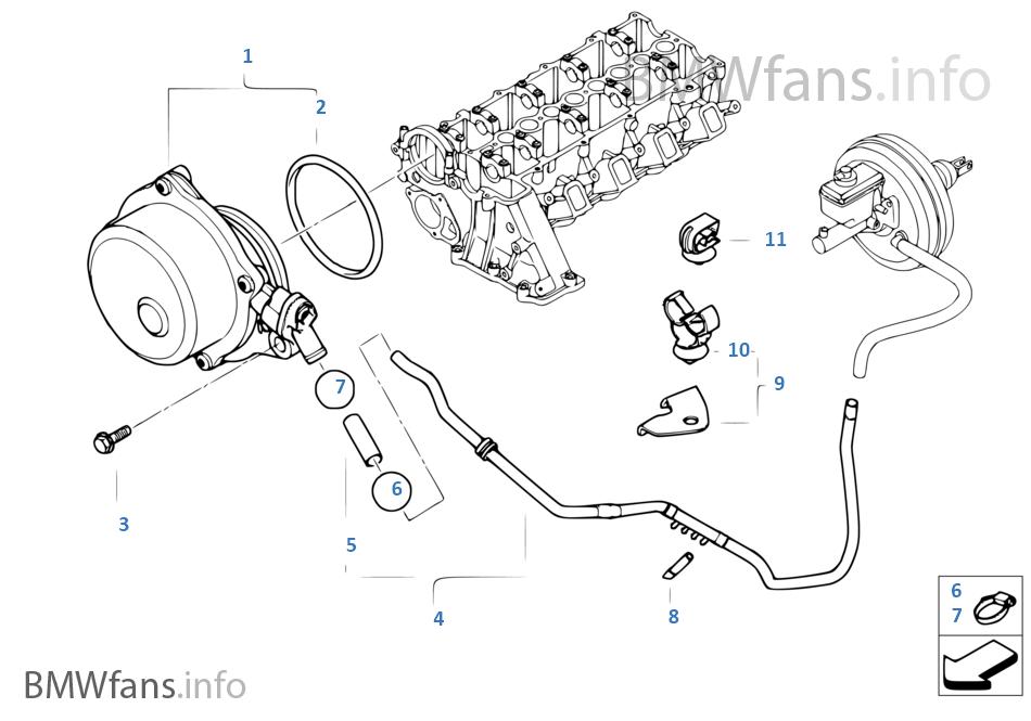 bmw e46 323i belt diagram