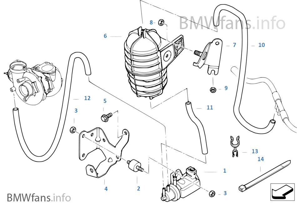 schema moteur bmw e46