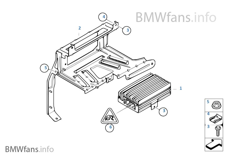 bmw x5 amplifier install