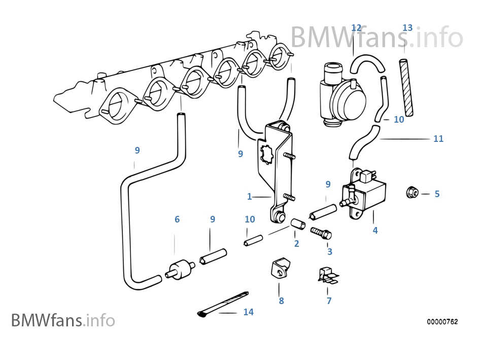 bmw e34 540i fuse box diagram