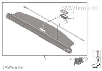 Sichtschutzrollo | BMW X3 F25 X3 28iX N52N USA