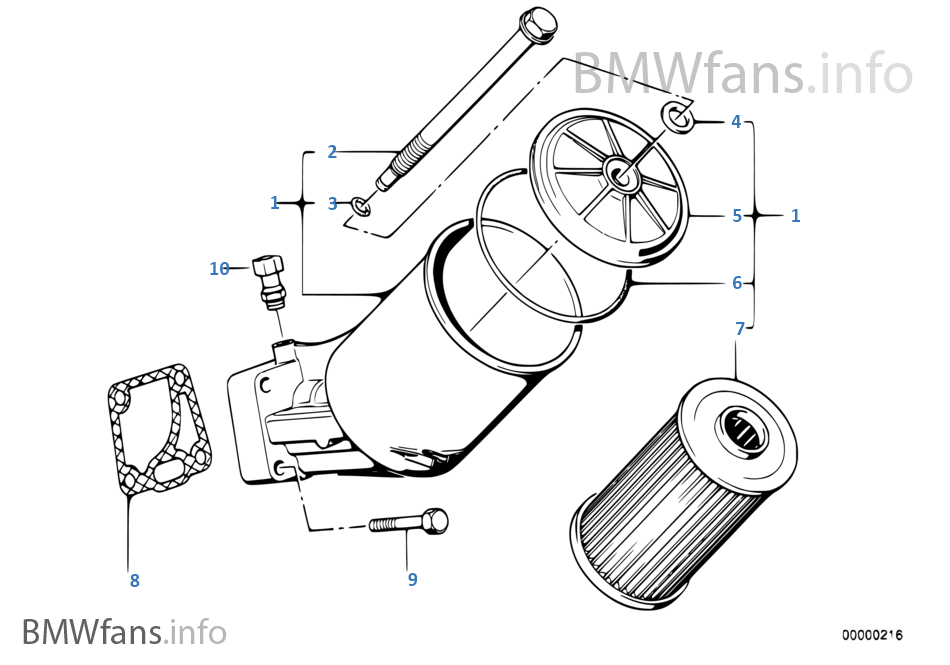 2009 bmw 535i Motor diagram
