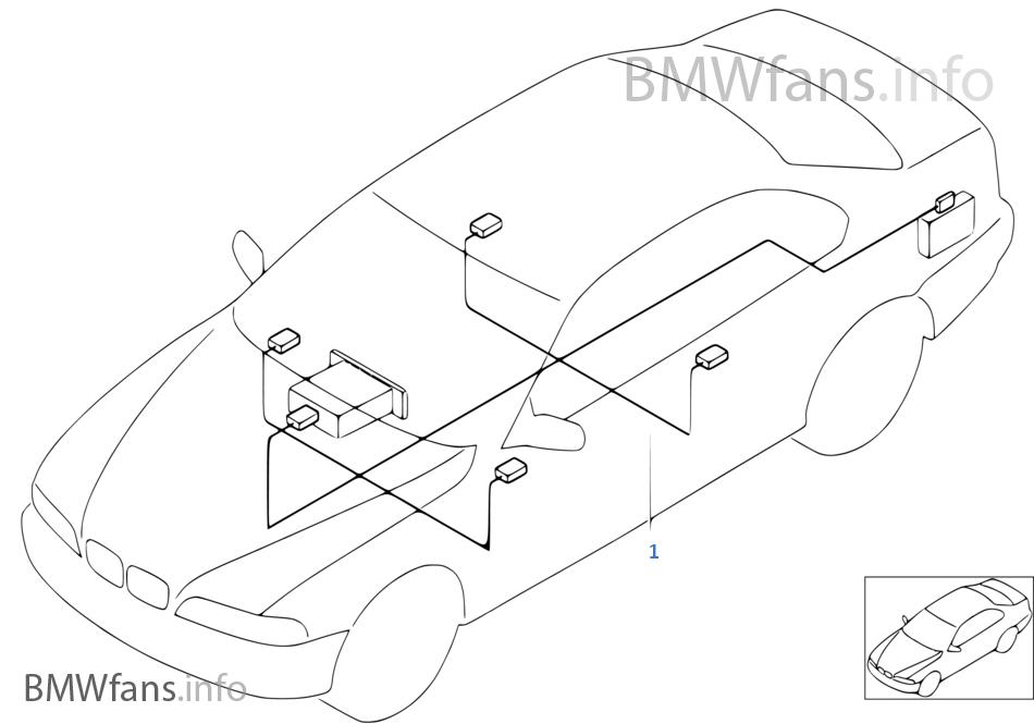 bmw e39 navigation wiring