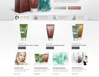 Beauty Brands Focus On Online Skin Care Shoppers